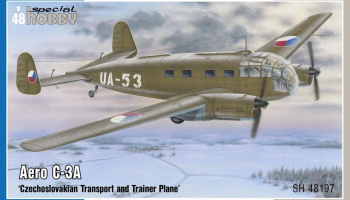 Aero C-3A 'Czechoslovakian Transport and Trainer Plane' 1/48 - Special Hobby