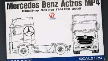 Mercedes Benz Actros MP4 Detail Up Set - Hobby Design