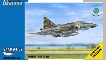 1/48 SAAB AJ 37 Viggen Attack Version - Updated ed