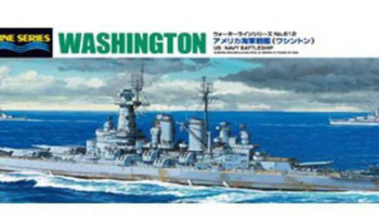 US NAVY BATTLESHIP WASHINGTON  1/700 - Aoshima