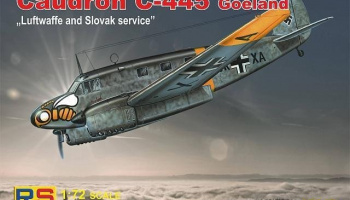 1/72 Caudron C-445 Goéland Luftwaffe and Slovak service