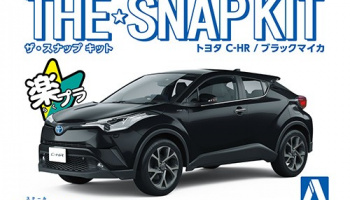 Toyota C-HR Black Mica The Snap Kit 1/32 - Aoshima