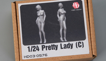 Pretty Lady (C) 1/24 - Hobby Design