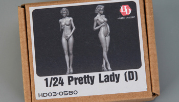 Pretty Lady (D)  (Resin+PE) 1/24 - Hobby Design