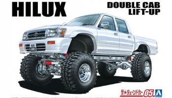 LN107 Hilux Pick-Up Double Cab Lift Up '94 1/24 - Aoshima