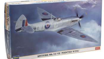 "SPITFIRE Mk.VII/VIII ""POINTED WING"" (1:48) - Hasegawa"