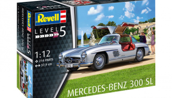 Mercedes Benz 300 SL in 1:12 - Revell