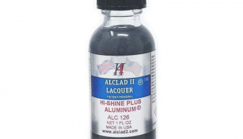 High Shine Plus Aluminum - 30ml (1oz) ALC126 - Alclad II Lacquers