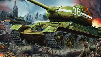 "T-34/85 Model 1944 ""Factory No 183"" 1:16 - Trumpeter"