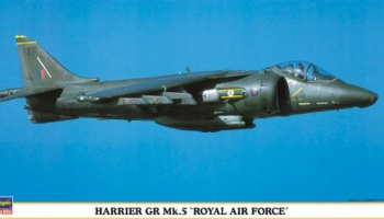 Harrier GR Mk.5 Royal Air Force 1/48 - Hasegawa
