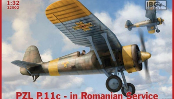 1/32 P.11c Fighter in Romanian Service