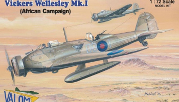 1/72 Vickers Wellesley Mk.I (African campaign)
