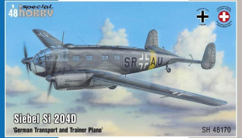 1/48 Siebel Si 204D 'German Transport and Trainer Plane'