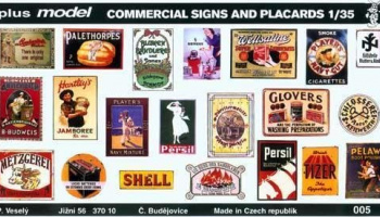 1/35 Commercial Signs and Placards