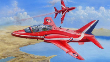 BAe Hawk T.Mk.1/1A Red Arrows 1/48 - Hobby Boss