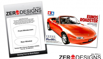 Mazda MX-5 Window Painting Masks (Tamiya) - Zero Paints
