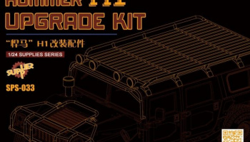 HUMMER H1 Upgrade Kit (Resin) 1:24 - Meng