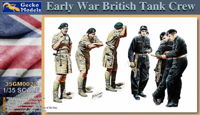 1/35 EARLY WAR BRITISH TANK CREW