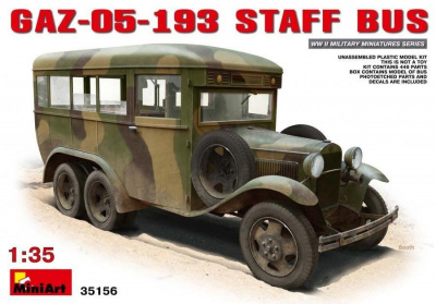 1/35 GAZ-05-193 Staff Bus