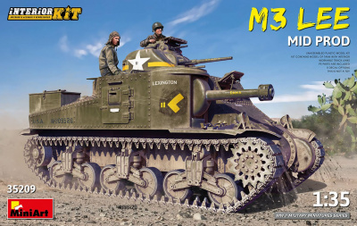 1/35 M3 Lee Mid Prod. Interior Kit - Miniart
