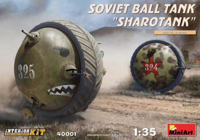 "1/35 Soviet Ball Tank ""Sharotank"" Interior Kit"