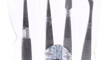 Tweezer Set 4pcs - U-Star