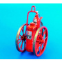 1/48 Dry chemical extinguisher-wheeled