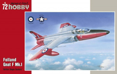 1/72 Folland Gnat F Mk.I British Single Seaters