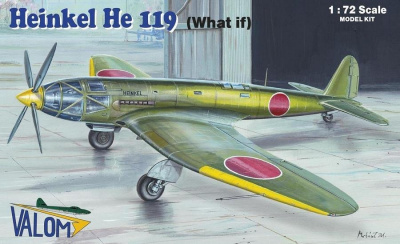 1/72 Heinkel He 119 (What if)