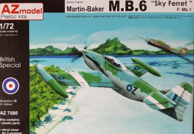 1/72 Martin Baker MB.6 Day Ferret