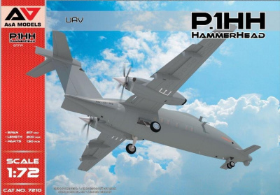 1/72 P.1HH HammerHead UAV (2nd flying prototype)