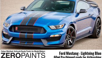 Ford Mustang 2019 - Lightning Blue Paint 60ml - Zero Paints