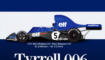 Tyrrell 006 1:12 - Model Factory Hiro