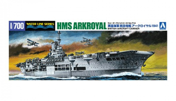 HMS Ark Royal 1941 Bismarck Pursuit 1/700 - Aoshima