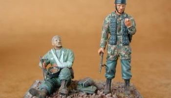 1/35 German Paratroops (2 fig.)