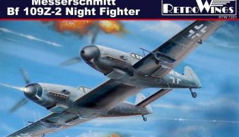 1/72 Messerschmitt Bf 109Z-2 Night Fighter