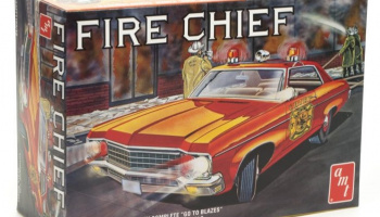 CHEVY IMPALA FIRE CHIEF 1:25 SCALE MODEL KIT - AMT