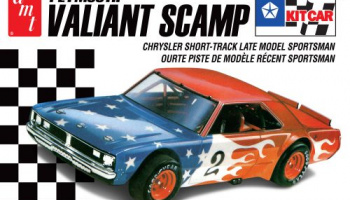 PLYMOUTH VALIANT SCAMP KIT CAR 1:25 - AMT