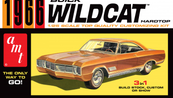 BUICK WILDCAT 1966 1:25 SCALE MODEL KIT - AMT