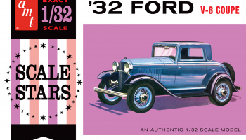 FORD SCALE STARS 1932 1:32 - AMT