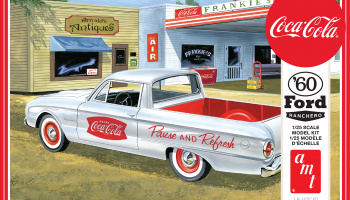 FORD RANCHERO W/COKE CHEST 1960 (COCA-COLA) 1:25 - AMT
