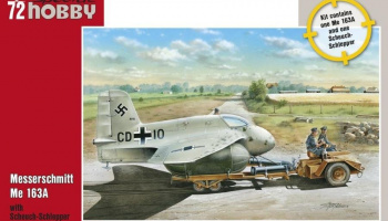 1/72 Messerschmitt Me 163A with Scheuch-Schlepper