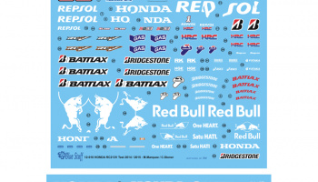 Honda RC213V Test 2014/15 - Blue Stuff