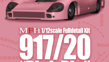 "Porsche 917/20 ""Pink Pig"" Fulldetail Kit 1/12 - Model Factory Hiro"