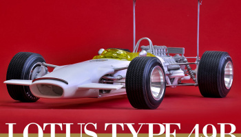 LOTUS Type49B Fulldetail Kit 1:12 - Model Factory Hiro
