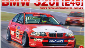 BMW 320i E46 DTCC 2001 Winner - NuNu Models