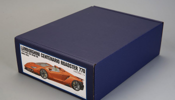 Lamborghini Centenario Roadster 770 Full Resin Kit 1/24 - Alpha Model