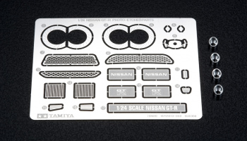Nissan GT-R Photo Etched Parts Set - Tamiya