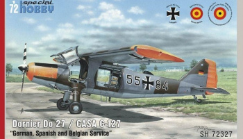 1/72 Dornier Do 27 German, Spanish and Belgian Ser
