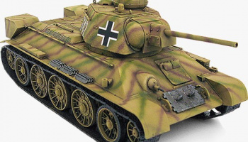 Model Kit tank 13502 - German T-34/76 747(r) (1:35)